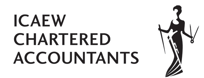 icaew firm logo white